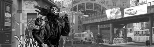 Shadowrun: Anarchist Berlin, by raben aas